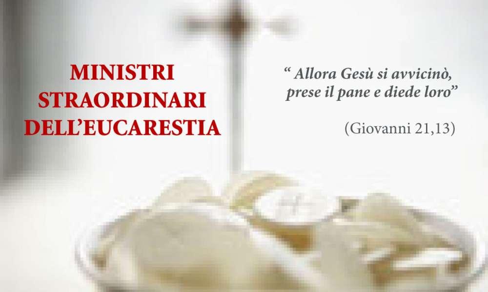 Ministri Straordinari dell'Eucaristia